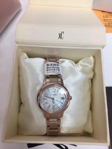 シチズン腕時計 クロスシー サクラビンク 高額買取