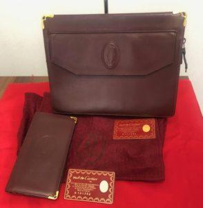 カルティエ マストライン クラッチバッグ 財布